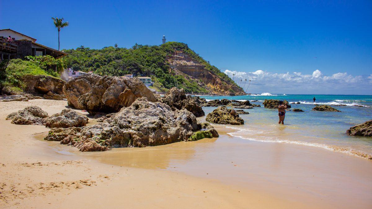 Primeira praia de Morro de São Paulo