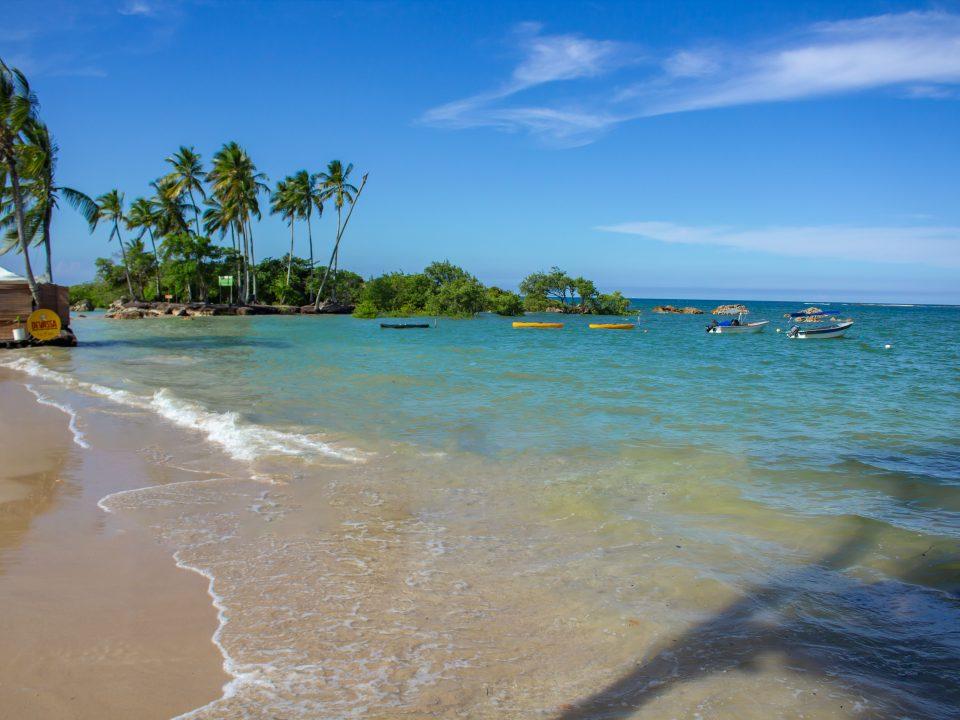 segunda praia de morro de sao paulo